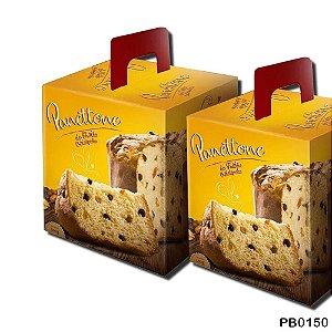Caixa de Panetone 500 gramas Frutas- 05 unidades