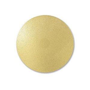 Cake Board Redondo Liso dourado 26 cm 05 unidades