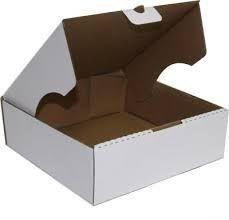 Caixa para bolo M08 320x320x100 mm  - 05 unidades