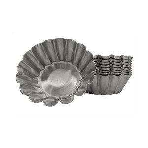 Forma de aluminio Empada Crespa N.3 - 12 unid. Cod 9318