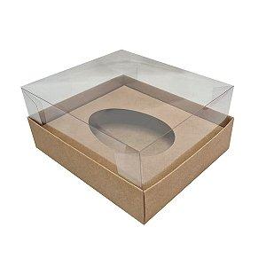 Caixa para ovo de pascoa de colher - Kraft - 50 gramas - 05 unidades