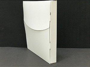 Caixa para camiseta- sublimação cor  branca 27x27x3 cm - 20 unidades