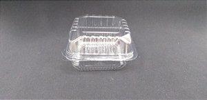 pote quadrado 200 ml para doces ou saladas A 641 - 50 unidades