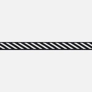 Fita Listrada Black White H281 (Jarda)