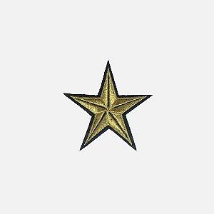 Aplique Gold Star (AS058)