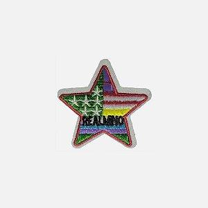 Aplique Colorful Star (D082)