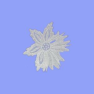 Renda Branca Poliéster 13-311. 14cm (Peça)