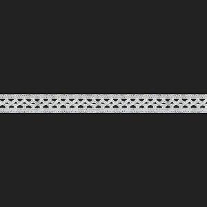 Renda Branca Poliéster F193 1,9cm. (Jarda)