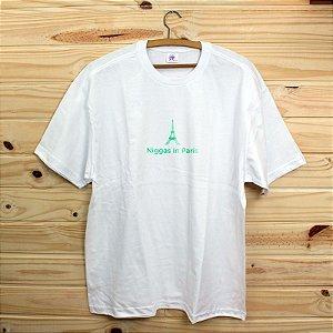 Camiseta Revista Rap Clothing - Niggas in Paris