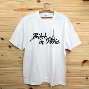 Camiseta Revista Rap Clothing - Bitch in Paris
