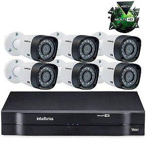 Kit Câmeras De Segurança Intelbras