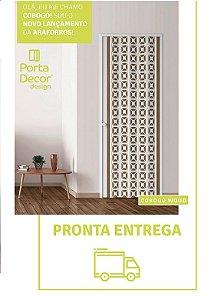 Porta Sanfonada Cobogó 0,84 x 2,10 ARAFORROS
