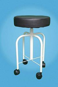 Banco Giratório altura ajustável  minima 50 cm- máxima 70 cm Esquadriplast