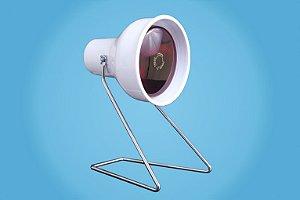 Suporte de mesa para Lâmpada infravermelho Esquadriplast