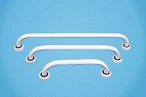 Barra de Apoio fixa tubo de 1''e ¼ polegada com Canopla - Esquadriplast