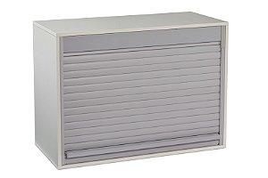 Loc Box Nicho MDF C/esteira Deslizante PVC -  0,50x0,37x,0,25 Cinza