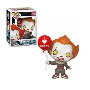 Boneco Funko Pop Pennywise With Balloon - It A Coisa 2 780