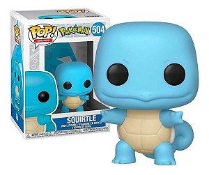 Boneco Pop! Funko Pokémon Squirtle 504