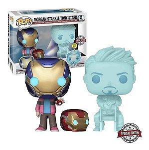 Boneco Funko Pop Avengers Vingadores Endgame Morgan & Tony Stark