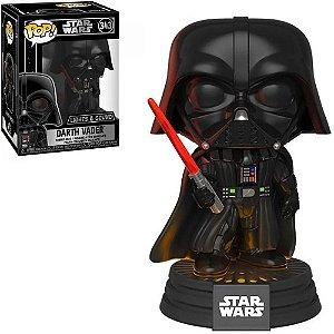Boneco Funko Pop Star Wars Lights & Sound Darth Vader 343