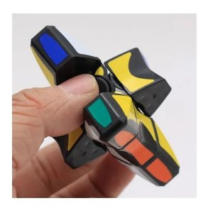Cubo Mágico Anti Stress Speed Finger Hand Spinner