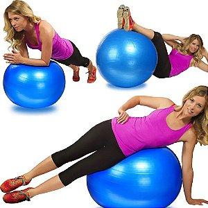 Bola Suíça Para Exercícios De Pilates Yoga Abdominais 65cm