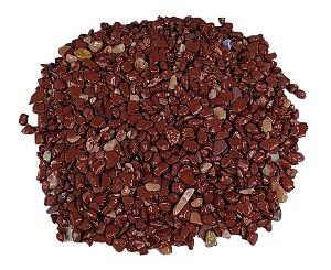 1kg De Pedra Rolada Cascalho Jaspe Vermelho Natural Chakra