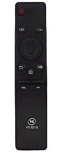 Controle Remoto Compatível Com Tv Samsung Led 4k Smart Curva VC8218