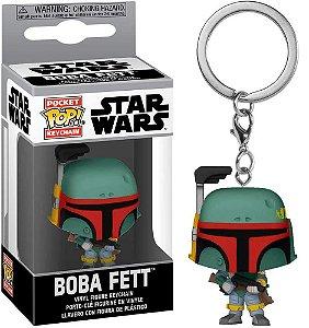 Chaveiro Funko Pop Star Wars Boneco Boba Fett