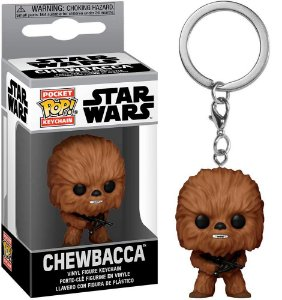 Chaveiro Funko Pop Star Wars Boneco Chewbacca