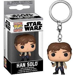 Chaveiro Funko Pop Star Wars Boneco Han Solo