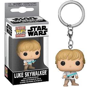 Chaveiro Funko Pop Star Wars Boneco Luke Skywalker