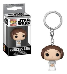 Chaveiro Funko Pop Star Wars Boneca Princess Leia