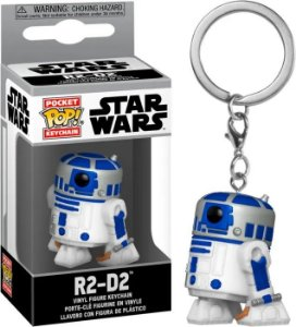 Chaveiro Funko Pop Star Wars Boneco R2-d2
