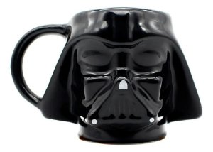 Caneca 3d Darth Vader Star Wars Geek Disney 500ml