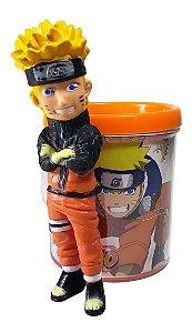 Boneco Naruto Shippuden + Caneca Personalizada 350ml