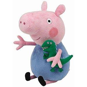 Boneco De Pelúcia George - Peppa Pig Antialérgico