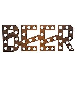 Quadro Porta Tampinhas Beer - Mural Para Tampas De Cerveja Uatt