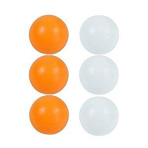 Bola Bolinha De Ping Pong Com 6 Unidades - Tênis De Mesa