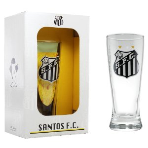 Copo cerveja e chopp do Santos 300 ML