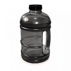 Garrafa De Água Modelo Garrafão Fitness 1,8 Litros Preto