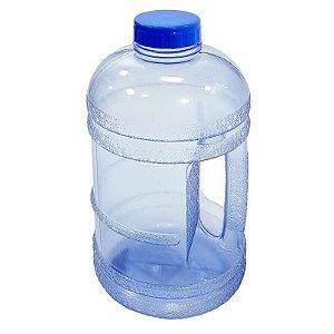Garrafa De Água Modelo Garrafão Fitness 1,8 Litros Azul