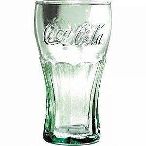 Copo Coca Cola Verde em Vidro
