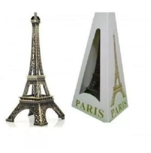 Enfeites Miniaturas Torre Eiffel Metal Paris 25cm