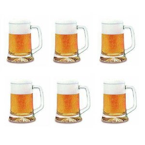 Kit 6 Canecas Para Chopp 280 Ml Maxim