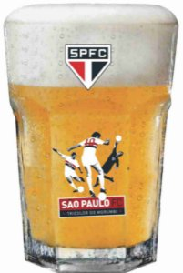 Copo Country Sao Paulo Tricolor - 400ml