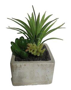 Mini Bonsai Artificial Com Vaso Ceramica 15cm
