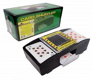 Embaralhador Misturador De Cartas Automatico Para Poker, Truco Baralhos