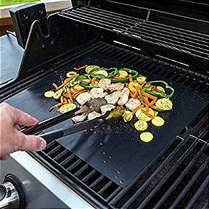 Manta Grill P/ Churrasqueira Teflon Prime Grill Churrasco Enviando normalmente