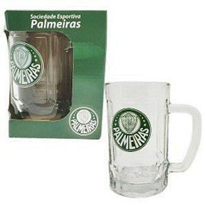 Caneca Chopp Cerveja Vidro Palmeiras Porco